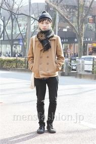 ファッションコーディネート原宿・表参道 2013年02月 雉山谷エイチさん