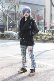 ファッションコーディネート原宿・表参道 2013年02月 イシガキケイタさん