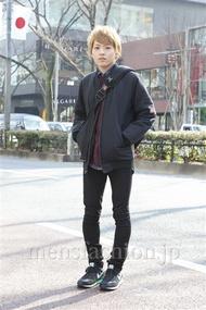 ファッションコーディネート原宿・表参道 2013年02月 辻 純平さん