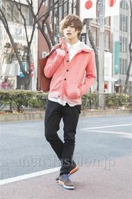 ファッションコーディネート原宿・表参道 2013年02月 藤田 富さん