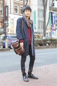 ファッションコーディネート原宿・表参道 2013年02月 高橋直斗さん