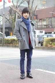 ファッションコーディネート原宿・表参道 2013年02月 三浦高介さん