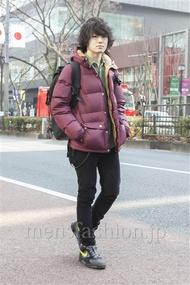 ファッションコーディネート原宿・表参道 2013年02月 根本晋太郎さん