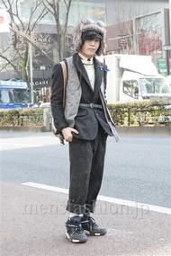 ファッションコーディネート原宿・表参道 2013年02月 nabescoさん