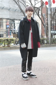 ファッションコーディネート原宿・表参道 2013年02月 斎藤章平さん