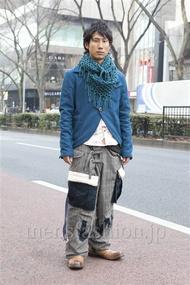 ファッションコーディネート原宿・表参道 2013年02月 シュンスケさん