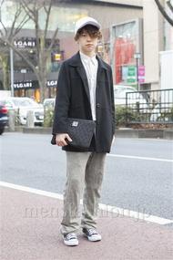ファッションコーディネート原宿・表参道 2013年02月 アンドウコウイチさん
