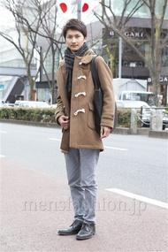 ファッションコーディネート原宿・表参道 2013年02月 滝沢宏至さん