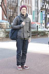 ファッションコーディネート原宿・表参道 2013年02月 ワタベショウマさん