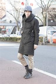 ファッションコーディネート原宿・表参道 2013年02月 吉河大樹さん