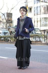 ファッションコーディネート原宿・表参道 2013年02月 斎藤 裕さん