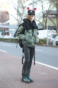 ファッションコーディネート原宿・表参道 2013年02月 長澤隆太郎さん
