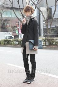 ファッションコーディネート原宿・表参道 2013年02月 くろさん