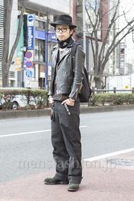ファッションコーディネート原宿・表参道 2013年02月 小林綾太さん