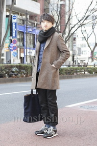 ファッションコーディネート原宿・表参道 2013年02月 木村政紀さん
