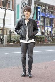 ファッションコーディネート原宿・表参道 2013年02月 我妻佑磨さん