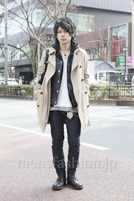 ファッションコーディネート原宿・表参道 2013年02月 黒山慶司さん
