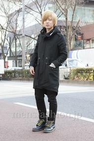 ファッションコーディネート原宿・表参道 2013年02月 見汐広行さん