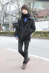ファッションコーディネート原宿・表参道 2013年02月 五味純一さん