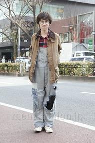 ファッションコーディネート原宿・表参道 2013年02月 浦辻大奨さん