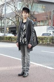 ファッションコーディネート原宿・表参道 2013年02月 石川健介さん