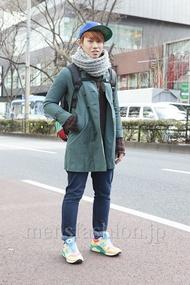 ファッションコーディネート原宿・表参道 2013年02月 榎並 海さん