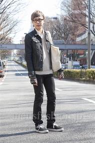 ファッションコーディネート原宿・表参道 2013年03月 宮下佳佑さん