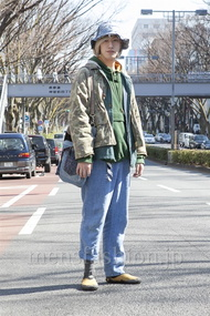 ファッションコーディネート原宿・表参道 2013年03月 北向達也さん