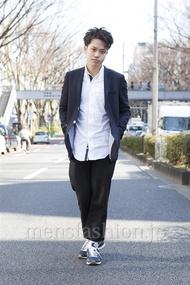 ファッションコーディネート原宿・表参道 2013年03月 増渕雄一さん