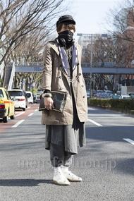 ファッションコーディネート原宿・表参道 2013年03月 矢内翔太さん