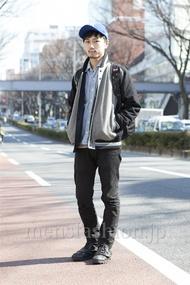 ファッションコーディネート原宿・表参道 2013年03月 中川淳也さん