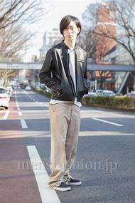 ファッションコーディネート原宿・表参道 2013年03月 松金祐太さん