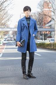 ファッションコーディネート原宿・表参道 2013年03月 石塚拓也さん