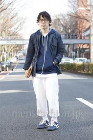 ファッションコーディネート原宿・表参道 2013年03月 加藤寿弥さん