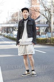 ファッションコーディネート原宿・表参道 2013年03月 松尾芳晴さん