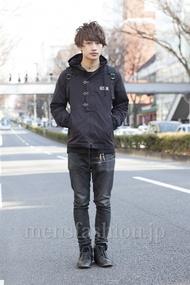 ファッションコーディネート原宿・表参道 2013年03月 松本 岳さん