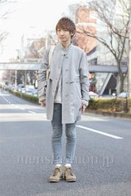 ファッションコーディネート原宿・表参道 2013年03月 平八重拓真さん