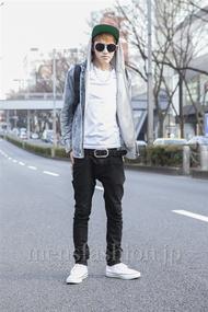 ファッションコーディネート原宿・表参道 2013年03月 龍哉さん