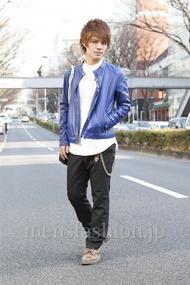 ファッションコーディネート原宿・表参道 2013年03月 川田晋吾さん