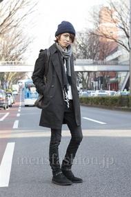 ファッションコーディネート原宿・表参道 2013年03月 斎藤亮太さん