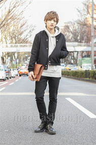 ファッションコーディネート原宿・表参道 2013年03月 藤田 富さん