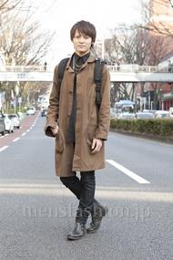 ファッションコーディネート原宿・表参道 2013年03月 石川健介さん