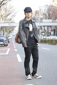 ファッションコーディネート原宿・表参道 2013年03月 新田快広さん