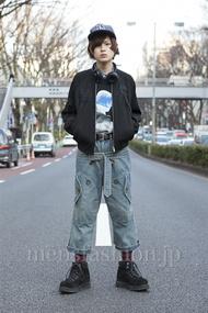 ファッションコーディネート原宿・表参道 2013年03月 長澤隆太郎さん