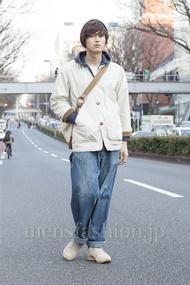 ファッションコーディネート原宿・表参道 2013年03月 加藤康貴さん