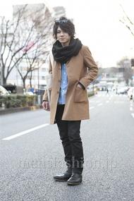 ファッションコーディネート原宿・表参道 2013年03月 黒山慶司さん