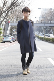 ファッションコーディネート原宿・表参道 2013年03月 日野達也さん