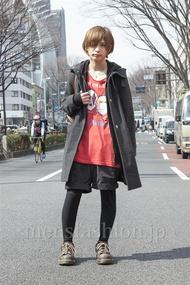 ファッションコーディネート原宿・表参道 2013年03月 岡 毅さん