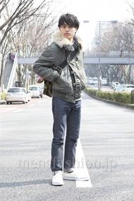 ファッションコーディネート原宿・表参道 2013年03月 青山清志さん