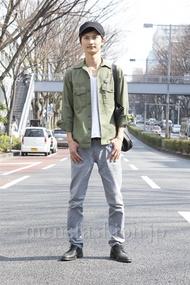ファッションコーディネート原宿・表参道 2013年03月 滝沢宏至さん
